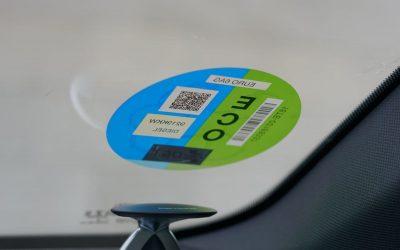 Madrid Central: la obligatoriedad de mostrar la etiqueta supondrá  unas pérdidas anuales de más de dos millones de euros para el rent a car