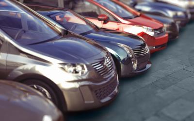 Los vehículos de rent a car, el álbum de cromos de las etiquetas medioambientales